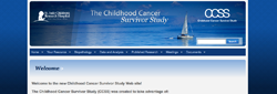 The CCSS provides a dynamic framework and resource in which to investigate current and future questions regarding consequences of therapy, genetic associations, disease processes and causation, interventions, and quality of life among childhood cancer survivors. The site utilizes the cms framework that I created, and jquery json parsing.