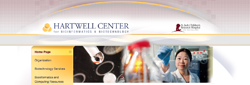 The Hartwell Center is a unique integration of high-throughput biotechnology resources, bioinformatics resources and academic programs; designed to provide St. Jude with state-of-the-art tools for discovery. The site utilizes the cms framework that I created, and jquery json parsing.